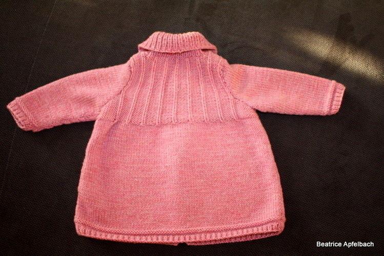 Makerist - kuschelige Babyjacke in Gr. 74 - Strickprojekte - 3