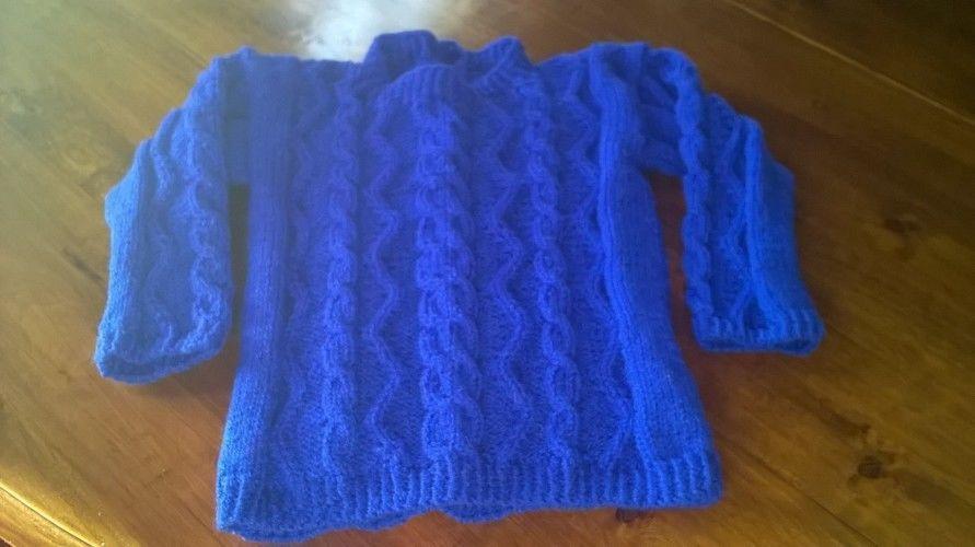 Makerist - Pull enfant - Créations de tricot - 1