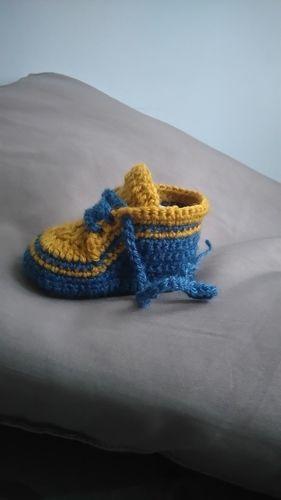 Makerist - Petites baskets  - Créations de crochet - 3
