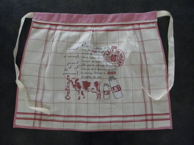 Makerist - tablier campagnard pour ma maman - Créations de couture - 1
