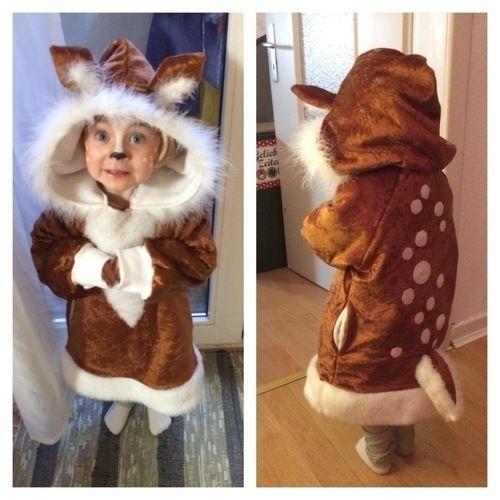 Makerist - Bambi-Kostüm  - Nähprojekte - 1