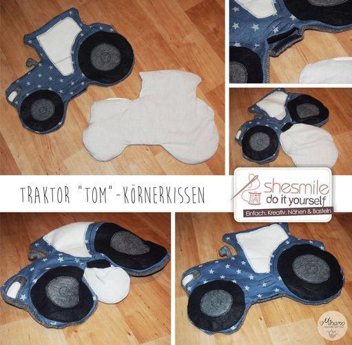 Makerist - Traktor Tom - Nähprojekte - 3
