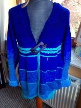 Makerist - Strickjacke aus Merino und Seide für mich - 1