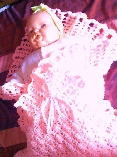 Makerist - couverture bébé - Créations de crochet - 1