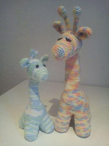 Makerist - giraffenmama mit baby - Häkelprojekte - 1