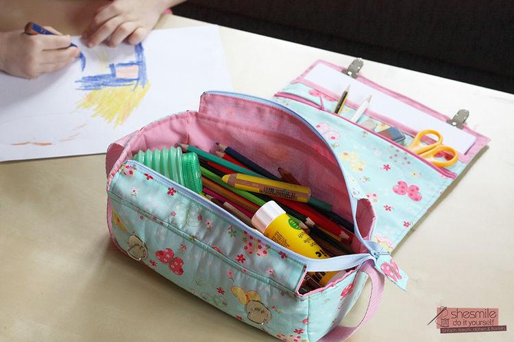 Makerist - Kreativ3 Utensilo-Tasche - Nähprojekte - 1