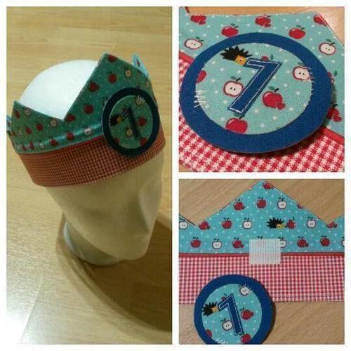 Makerist - Geburtstagskrone - Nähprojekte - 1