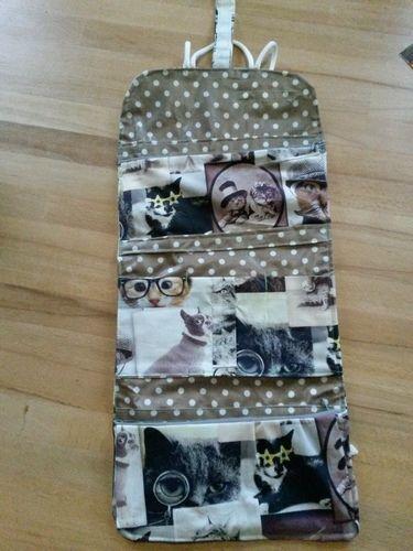 Makerist - Kulturtasche mit Katzen - Nähprojekte - 2