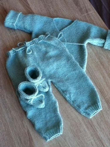 Makerist - ensemble bebe couleur glacier - Créations de tricot - 2