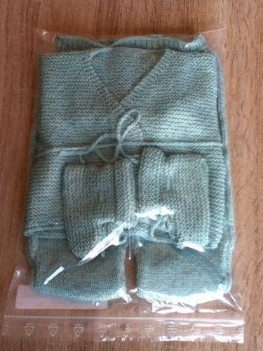 Makerist - ensemble bebe couleur glacier - Créations de tricot - 3