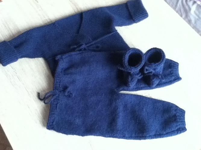 Makerist - ensemble bebe couleur bleu marine - Créations de tricot - 2