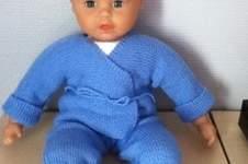 Makerist - ensemble bebe couleur bleuet - 1