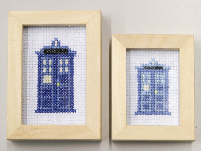 Makerist - Dr. Who Tardis gestickt - DIY-Projekte - 1