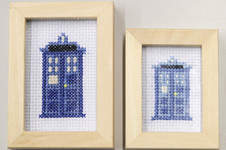 Makerist - Dr. Who Tardis gestickt - 1