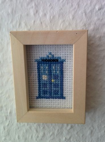 Makerist - Dr. Who Tardis gestickt - DIY-Projekte - 3