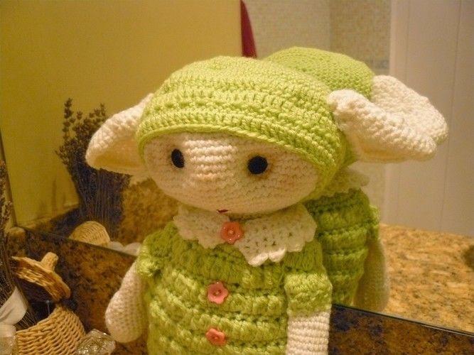 Makerist - petite bébette verte  - Créations de crochet - 3