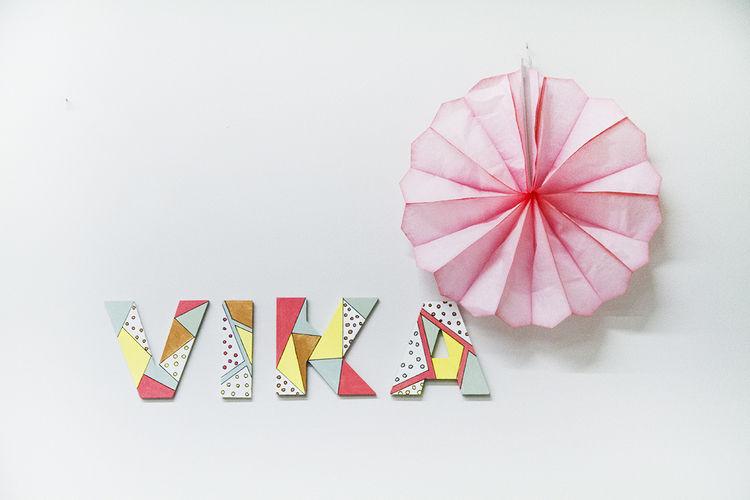 Makerist - Acrylfarben // Holzbuchstaben - DIY-Projekte - 1