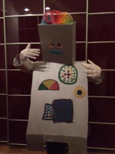 Makerist - OldSchool Roboter Kostüm - DIY-Projekte - 1