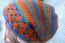 Makerist - Grannybeanie mal anders :) - 1