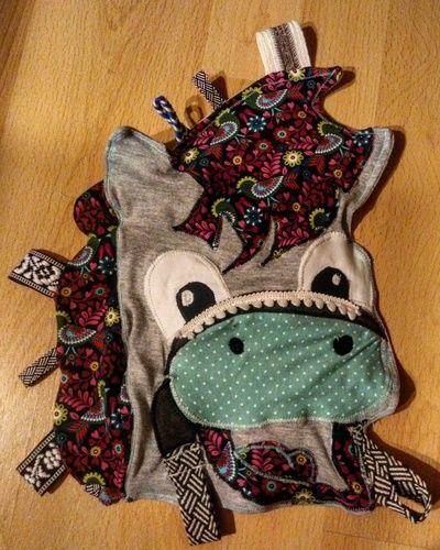 Makerist - Babyknistertuch Pony (Jerseystoffe) - Nähprojekte - 1