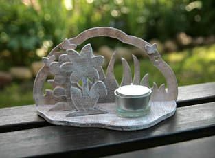 """Teelichthalter """"Blume"""""""