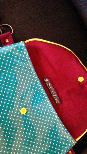 Makerist - pochette duo enduite - Créations de couture - 1