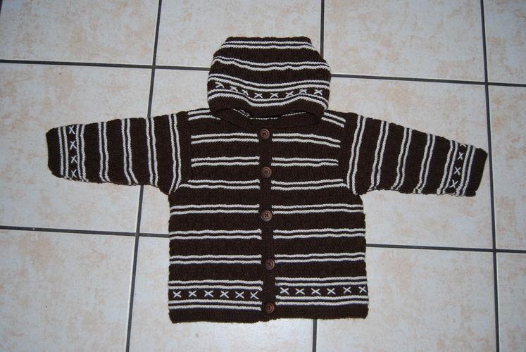 Makerist - gilet en laine - Créations de tricot - 1