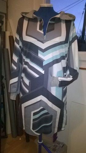 Makerist - Robe capuche pour moi - Créations de couture - 1