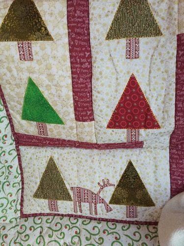 Makerist - Weihnachtsquilt - Patchwork-Projekte - 2