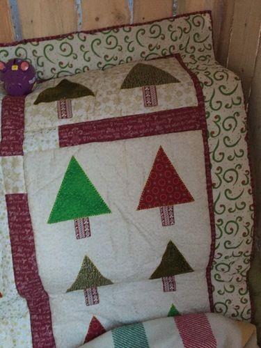 Makerist - Weihnachtsquilt - Patchwork-Projekte - 3