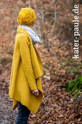 """Mantel aus Wollwalk nach dem """"Goldstück"""" Schnitt von Print4Kids"""