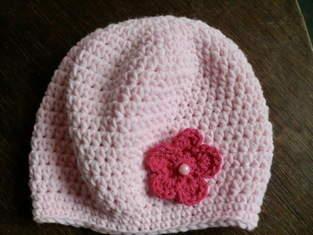 Makerist - Babymäusemütze in rosa - 1