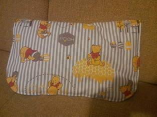 Wickeltasche, aus Baumwollstoffen, für den Familienzuwachs