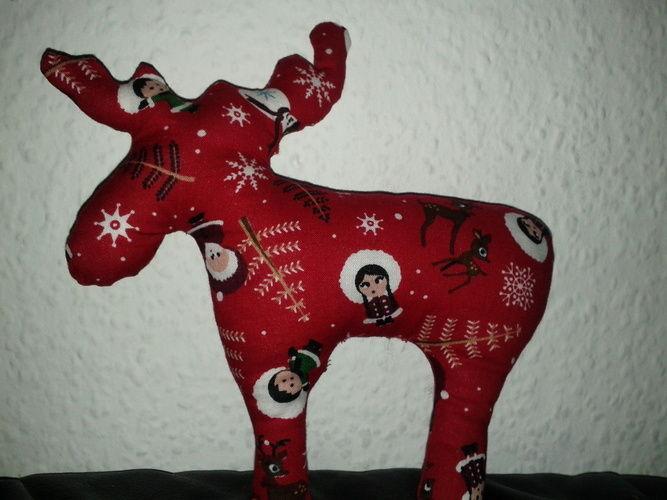 Makerist - Weihnachts Elch - Nähprojekte - 1
