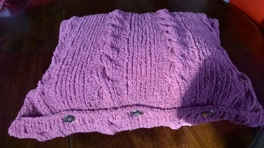 Makerist - housse de coussin - Créations de tricot - 1