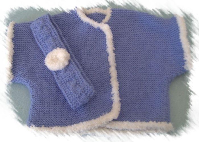 Makerist - Gilet sans manches 1/3 Mois - Créations de tricot - 1
