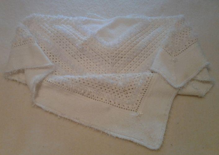 Makerist - Couverture de Baptême  - Créations de crochet - 3