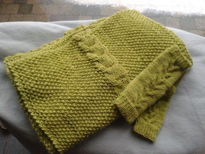 Makerist - écharpe et mitaines pisatche - Créations de tricot - 1