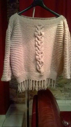 Makerist - Pull irlandais revisité - Créations de tricot - 1