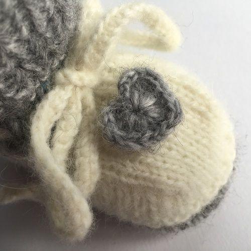 Makerist - Babyschuhe mit Herz - Strickprojekte - 2