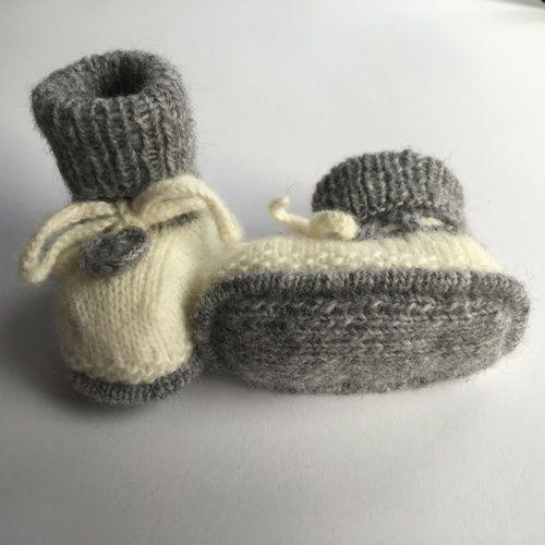 Makerist - Babyschuhe mit Herz - Strickprojekte - 3