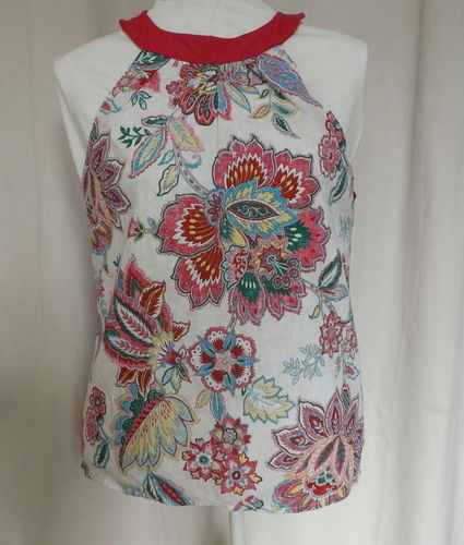 Makerist - TOP COTON FEMME MOTIFS FLEURS - Créations de couture - 1