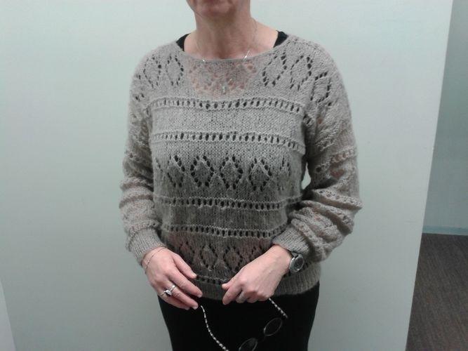 Makerist - pull Marleen - Créations de tricot - 1