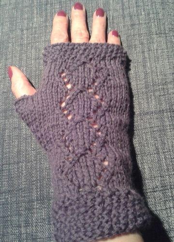 Makerist - l'écharpe Agnès et les mitaines assorties - Créations de tricot - 1