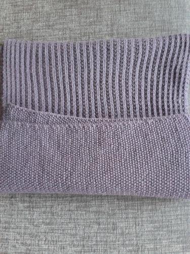 Makerist - l'écharpe Agnès et les mitaines assorties - Créations de tricot - 2