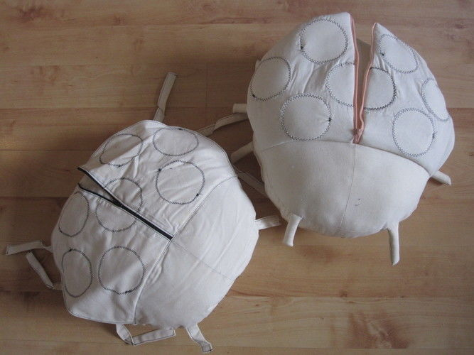 Makerist - Käfer-Kissen - Nähprojekte - 1