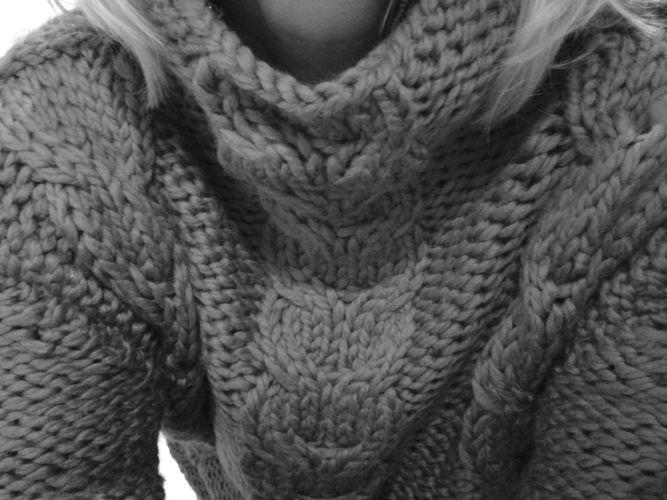 Makerist - mon gros pull doudou  - Créations de tricot - 1