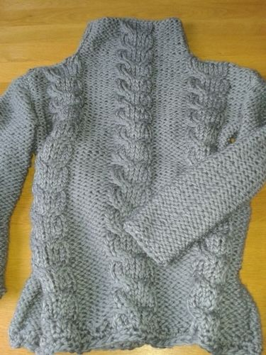 Makerist - mon gros pull doudou  - Créations de tricot - 2