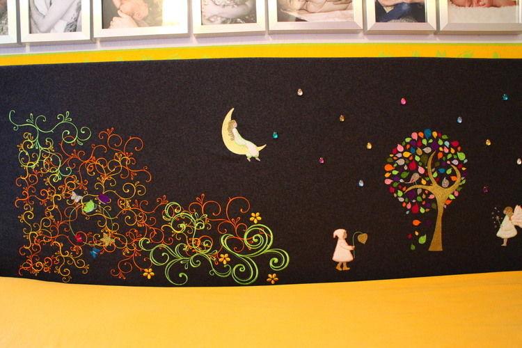 Makerist - Bett-Rückenlehne Traumland - Nähprojekte - 2