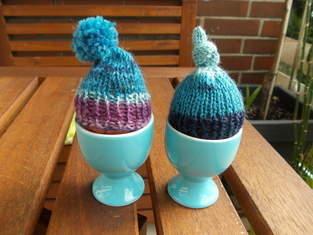Makerist - Eierwärmer :-)  Sockenwolle  Kleine Osternettigkeit für die Nachbarn - 1